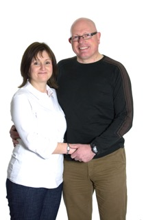 Greg and Tina Charity Picture